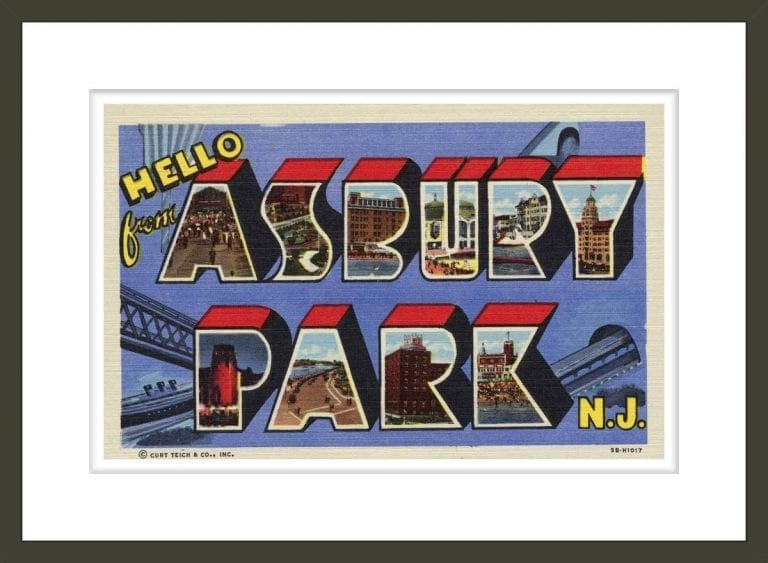 Greeting Card from Asbury Park, New Jersey