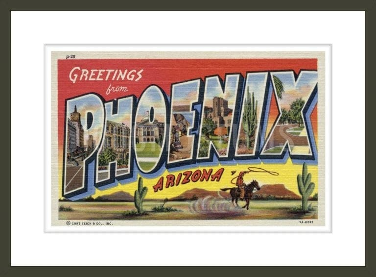 Greeting Card from Phoenix, Arizona