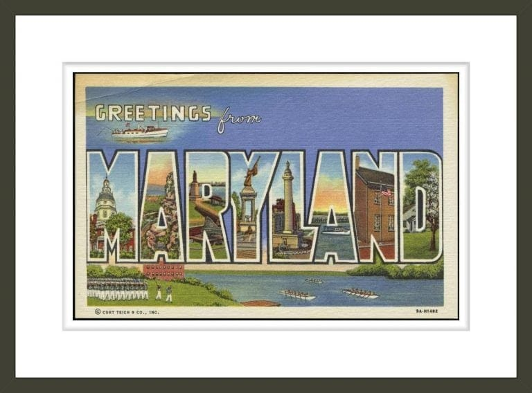 Greeting Card from Maryland