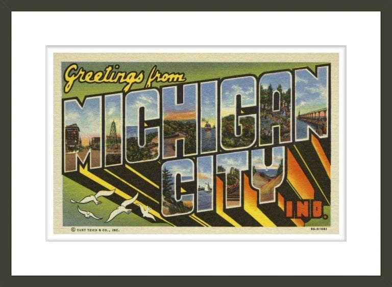 Greeting Card from Michigan City, Indiana