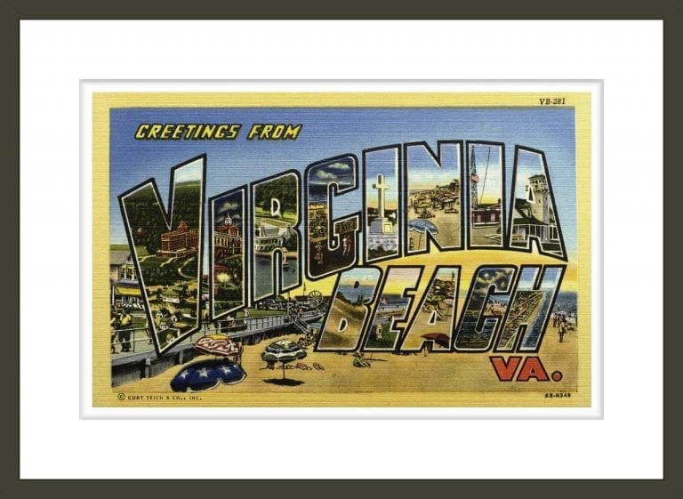 Greeting Card from Virginia Beach