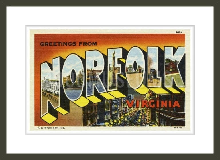 Greeting Card from Norfolk, Virginia