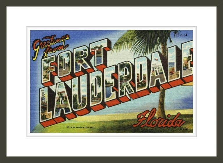 Greeting Card from Fort Lauderdale, Florida