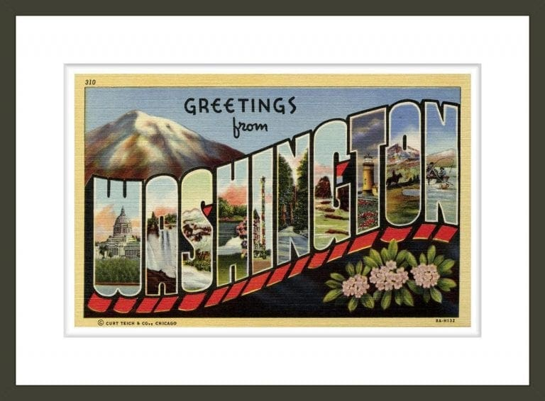 Greeting Card from Washington State