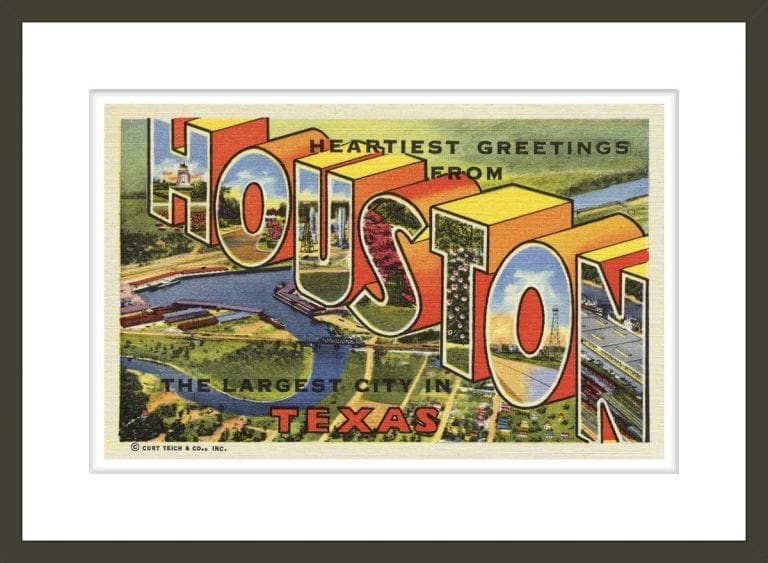 Greeting Card from Houston, Texas