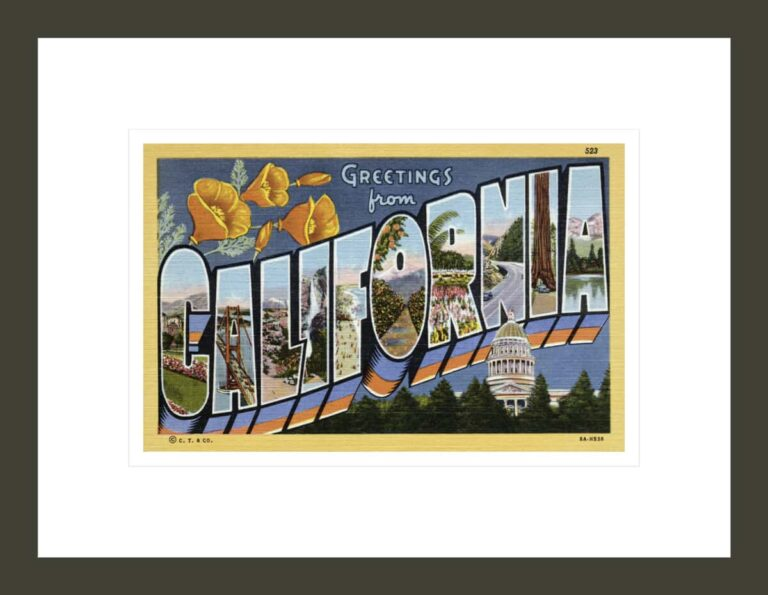 Greeting Card from California