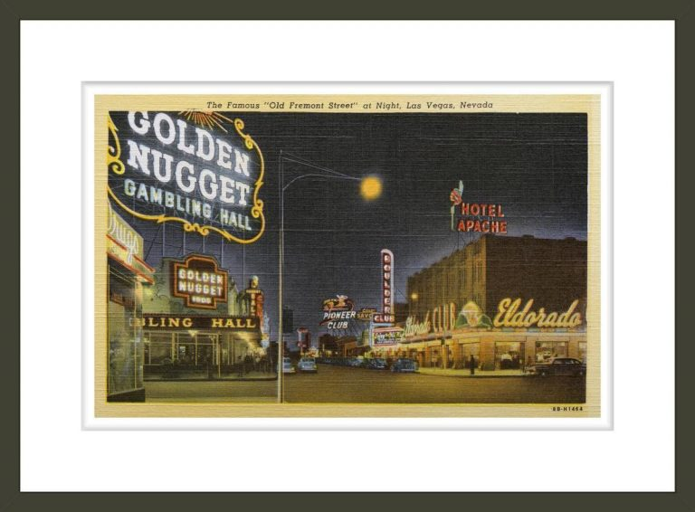 Old Fremont Street and Casinos