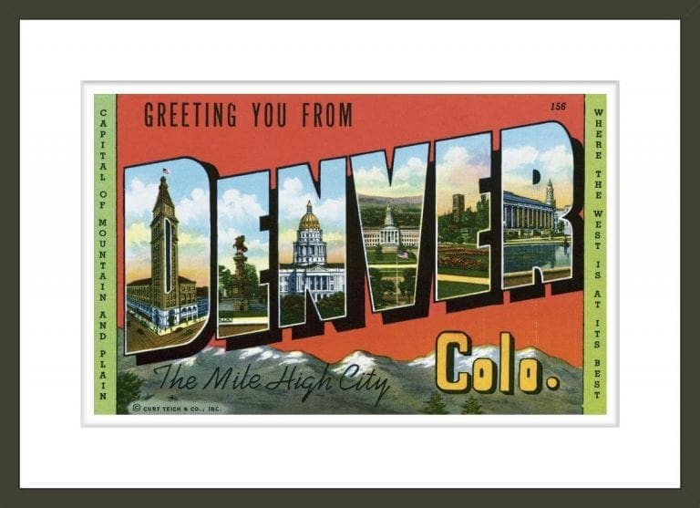 Greeting Card from Denver