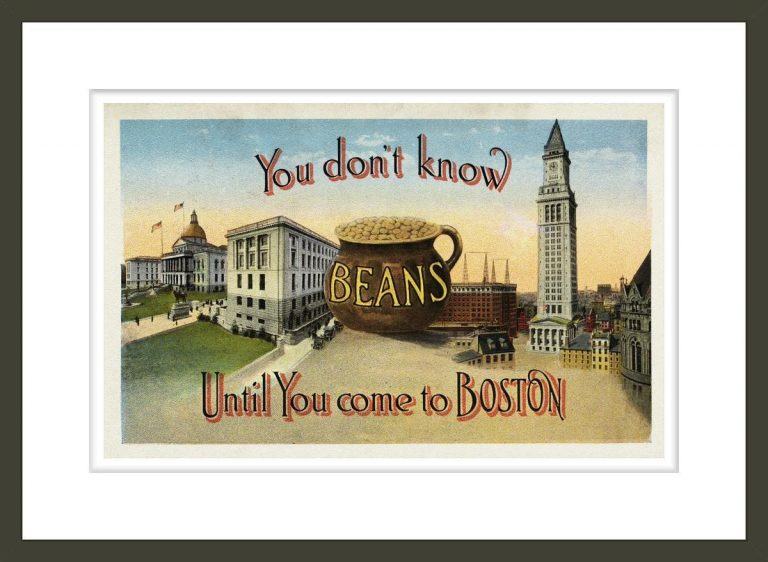 Postcard of Promotion for Boston