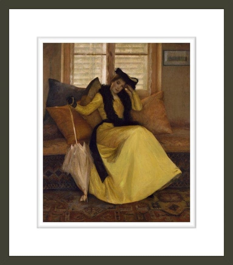 Lady in Yellow (Eleanor Reeves), 1902