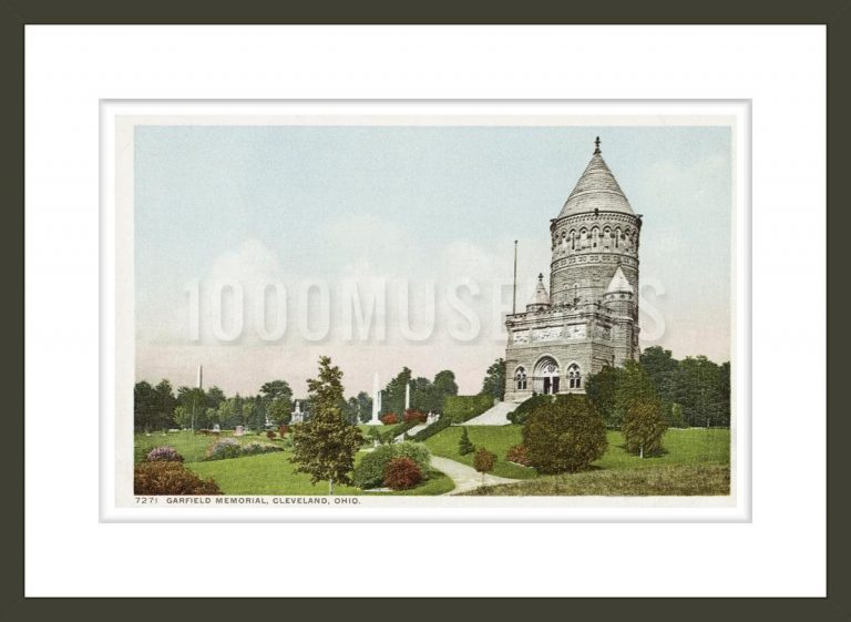 Garfield Memorial, Cleveland, Ohio Postcard