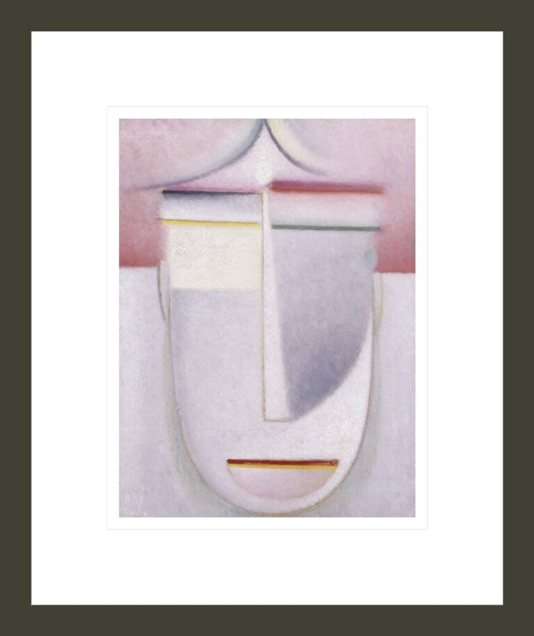 Abstract Head: Composition No 2 'Winter'