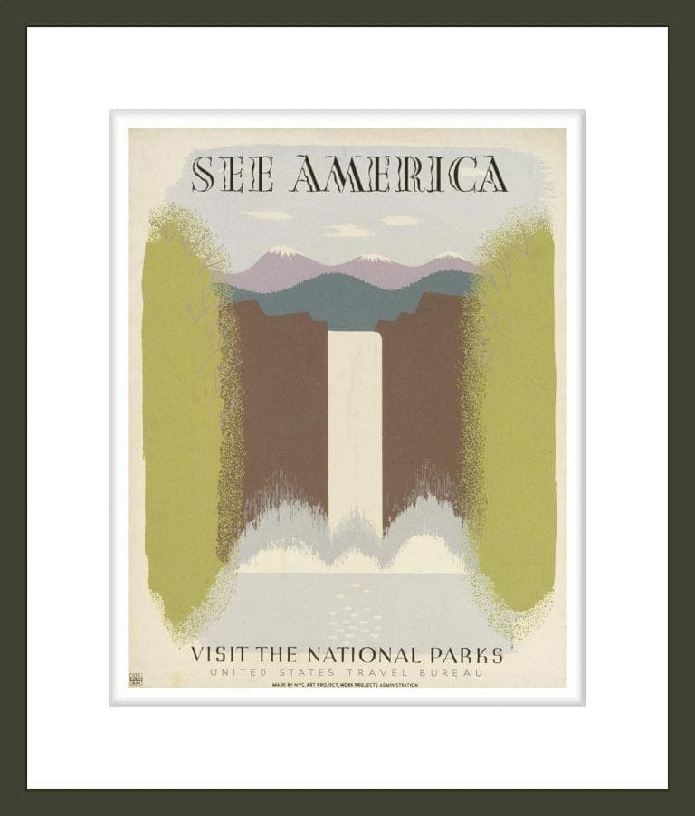 See America Visit the national parks.