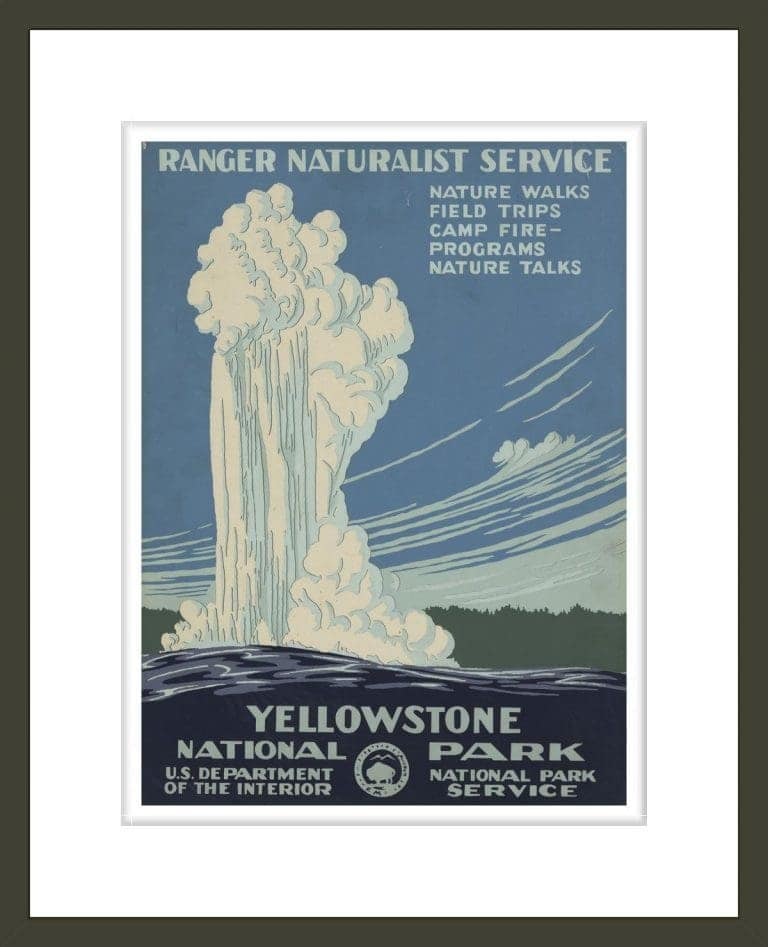 Yellowstone National Park, Ranger Naturalist Service
