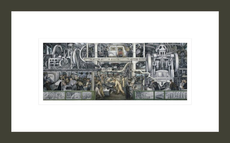 Detroit Industry, South Wall, central panel