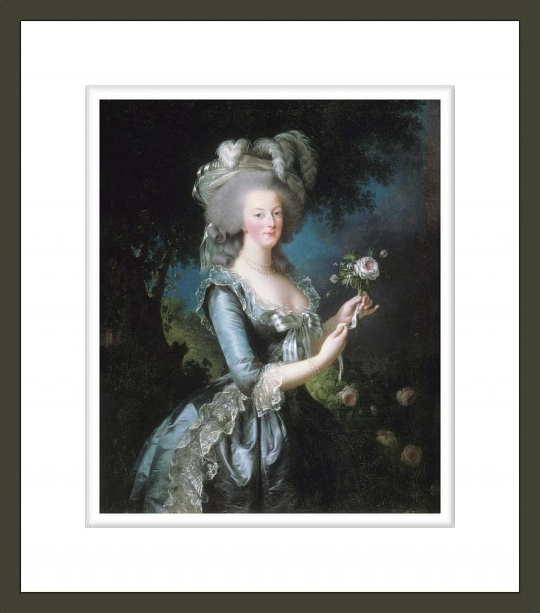 Marie-Antoinette with a Rose