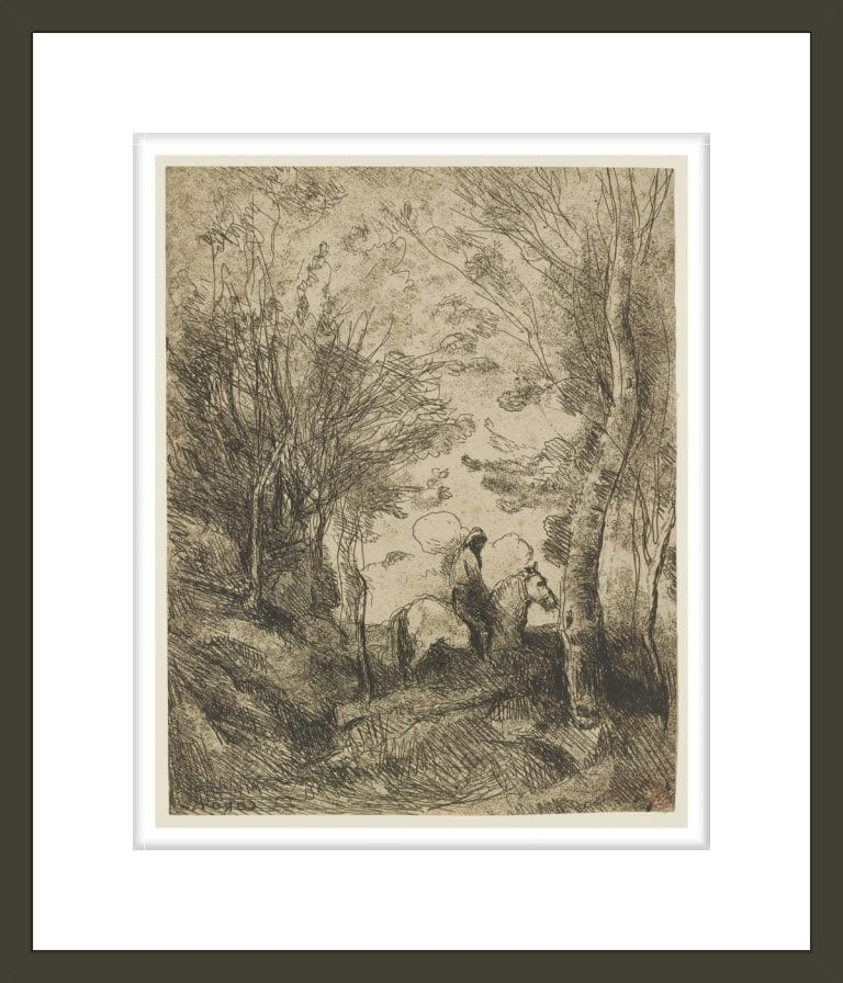 Le grand cavalier sous bois (The Large Rider in the Woods)