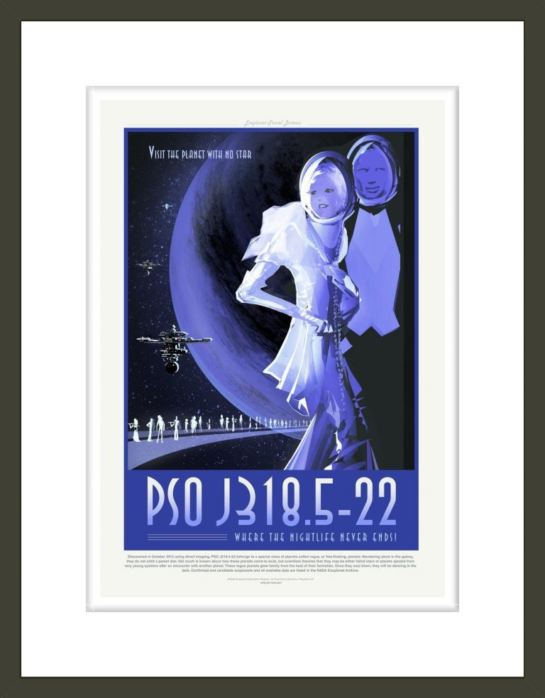 PSO J318.5-22: Where the Nightlife Never Ends!