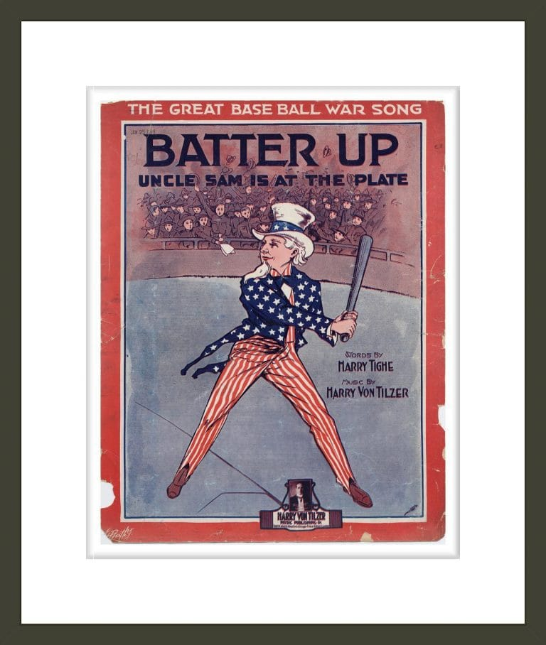 Batter up, Uncle Sam is at the plate