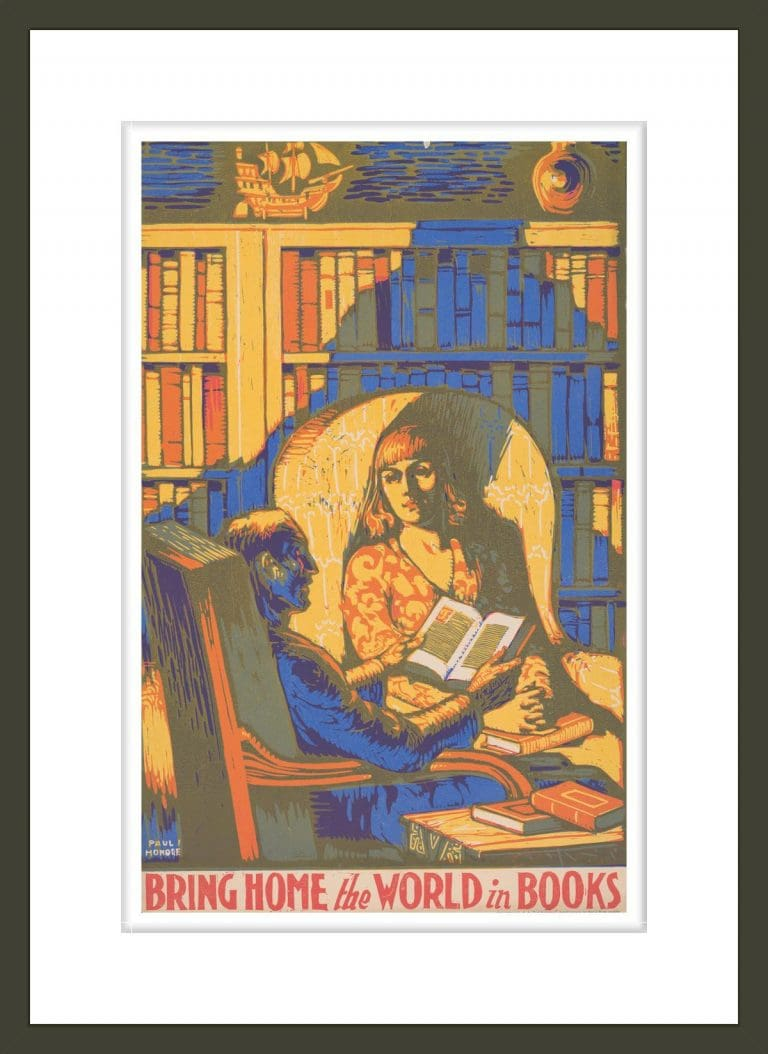 Bring home the world in books / Paul Honoré.