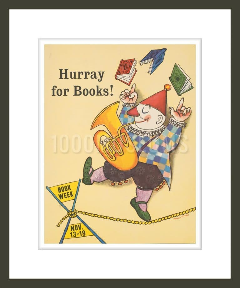 Hurray for books!