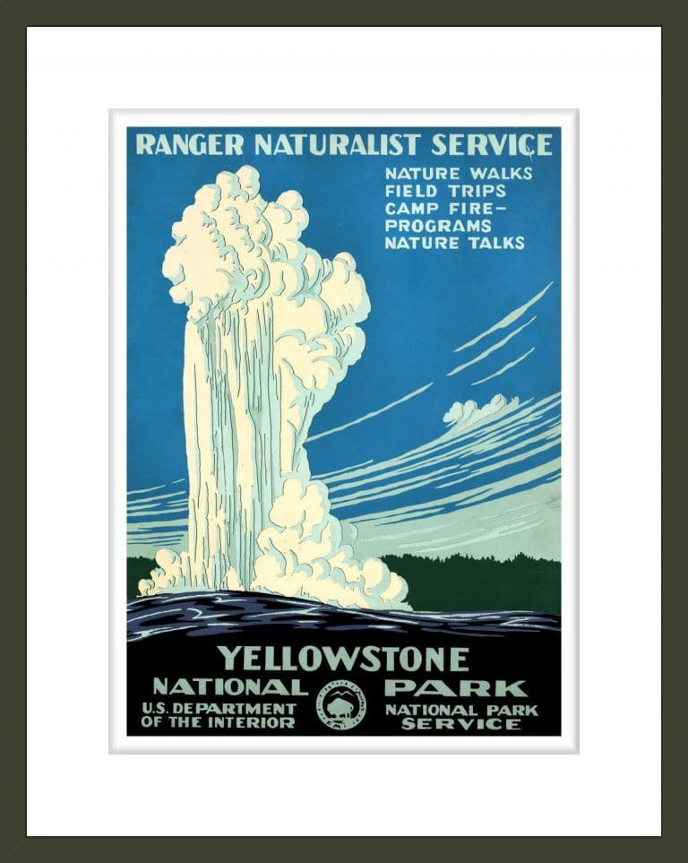 Yellowstone National Park Ranger Naturalist Service 1000museums