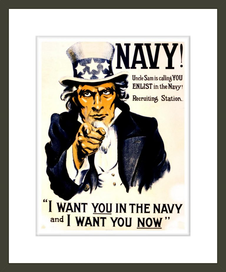 Navy! Uncle Sam is calling you--enlist in the Navy! / Western Litho. Co. Los Angeles.