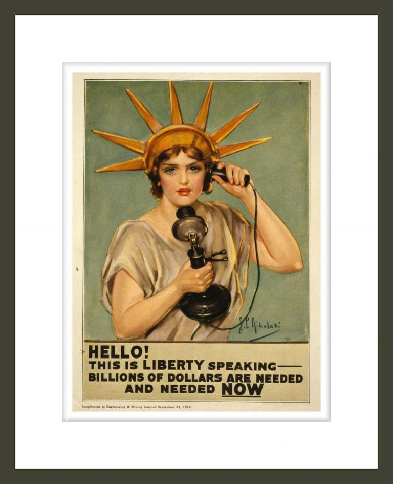 Hello! This is liberty speaking - billions of dollars are needed and needed now / Z.P. Nikolaki.