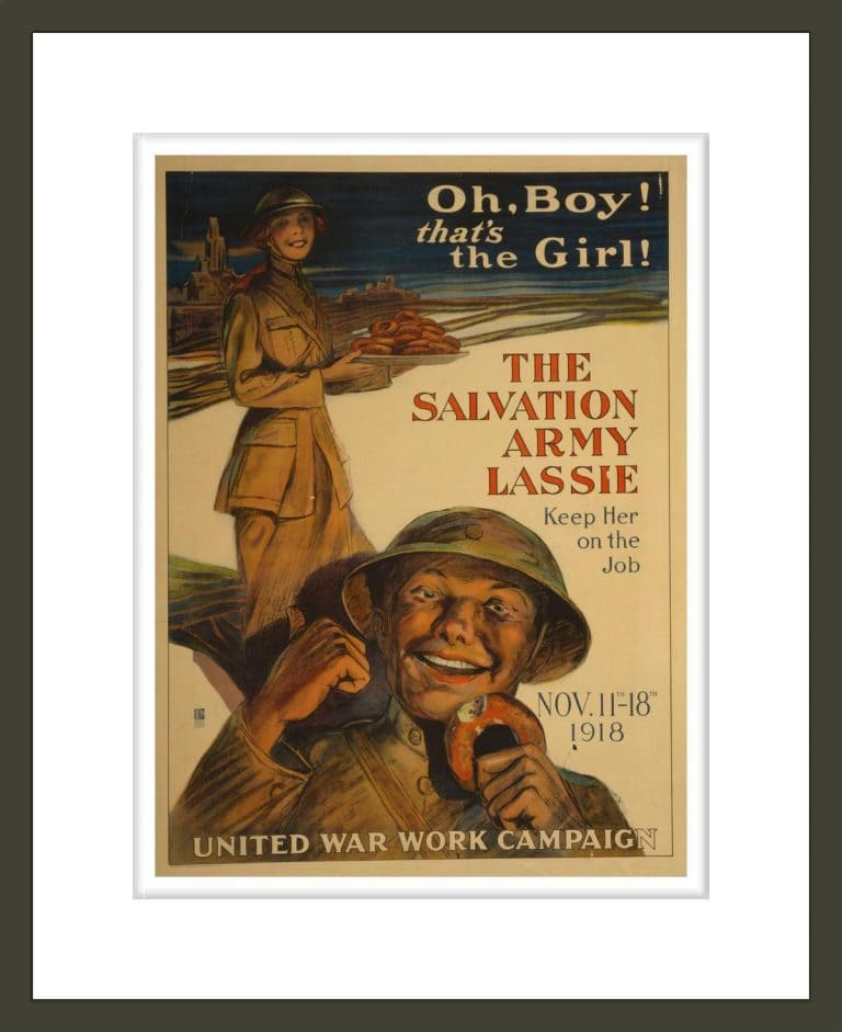 Oh, boy that's the girl! The Salvation Army lassie--keep her on the job / G. M. Richards.