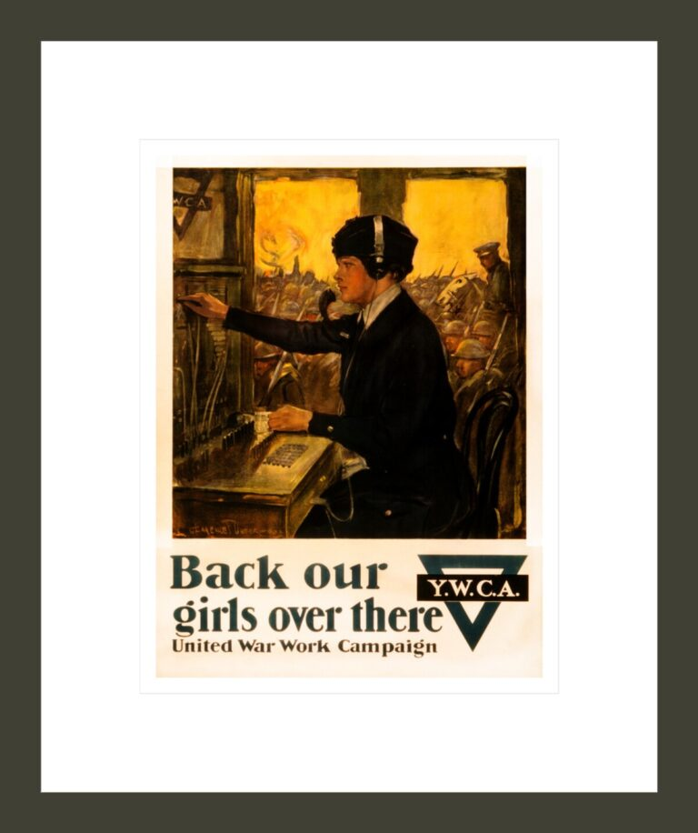 Back our girls over there United War Work Campaign / / Clarence F. Underwood.
