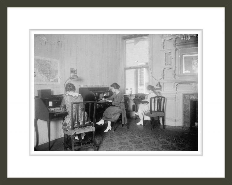 WOMAN SUFFRAGE. NATIONAL WOMEN'S PARTY, INTERIOR