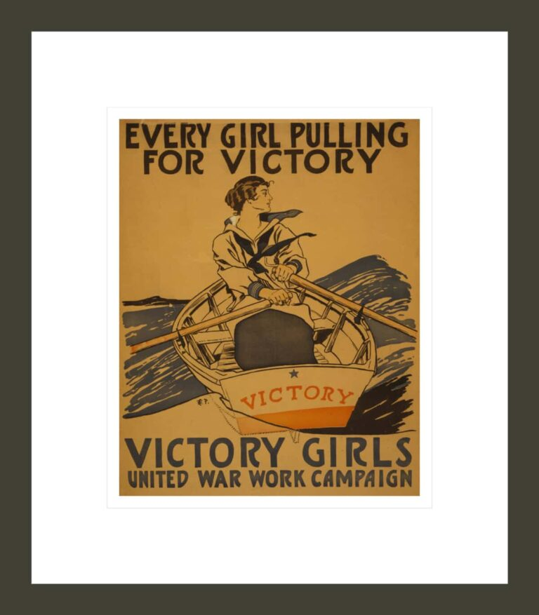 Every girl pulling for victory - Victory Girls United War Work Campaign / E.P.