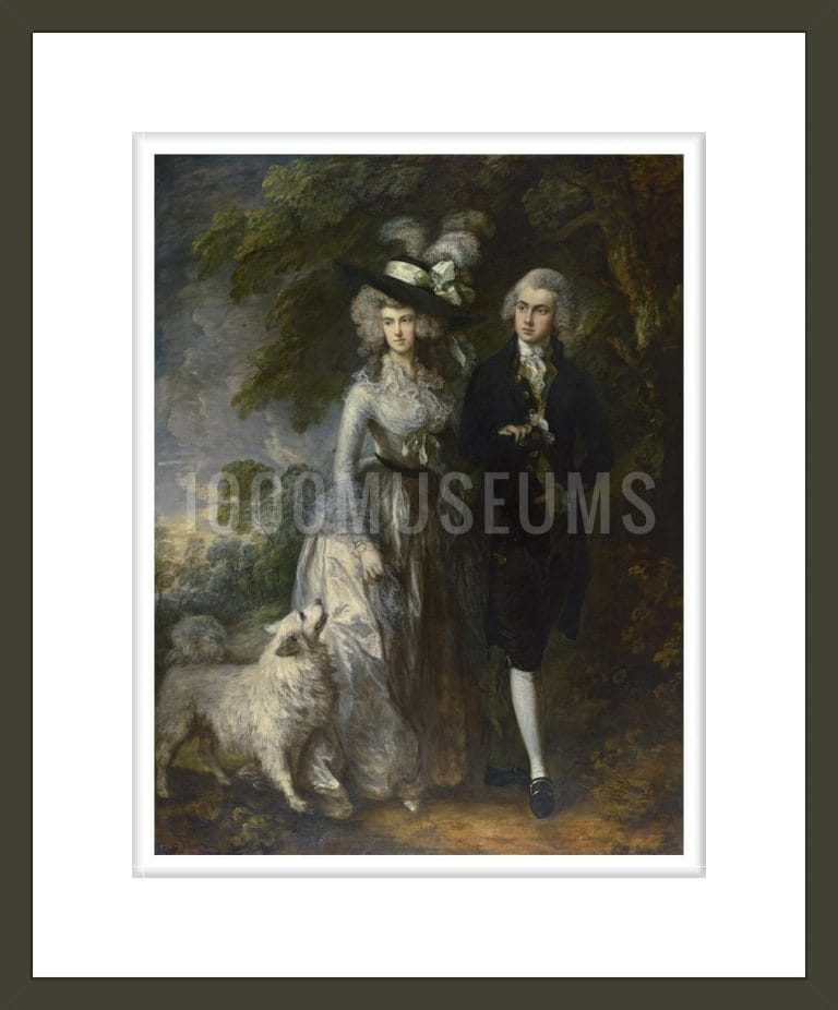 Mr and Mrs William Hallett ('The Morning Walk')