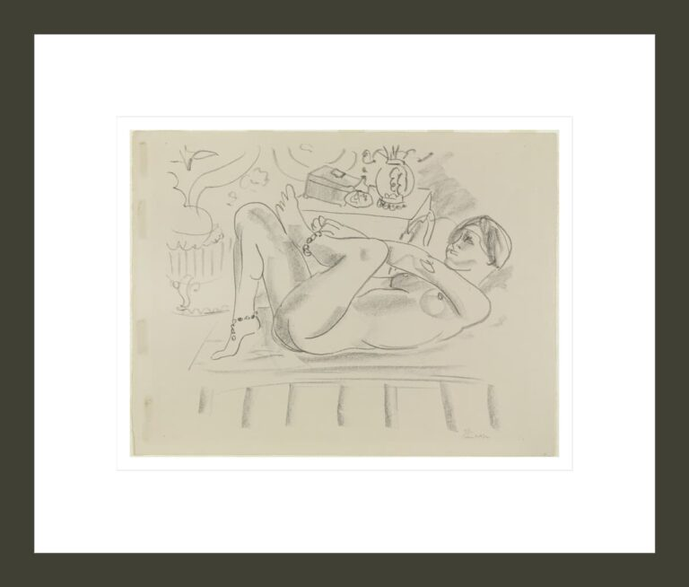 Nude Odalisque with Box