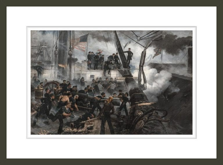 An August morning with Farragut; the Battle of Mobile Bay, August 5, 1864