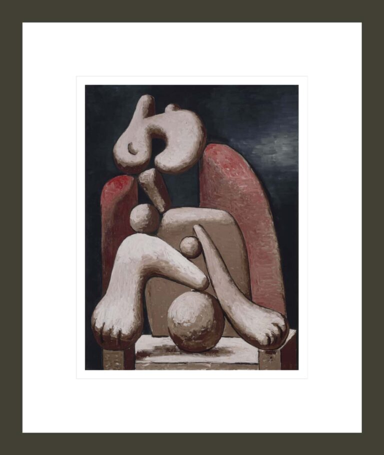 Femme au fauteuil rouge (Woman in a Red Armchair)