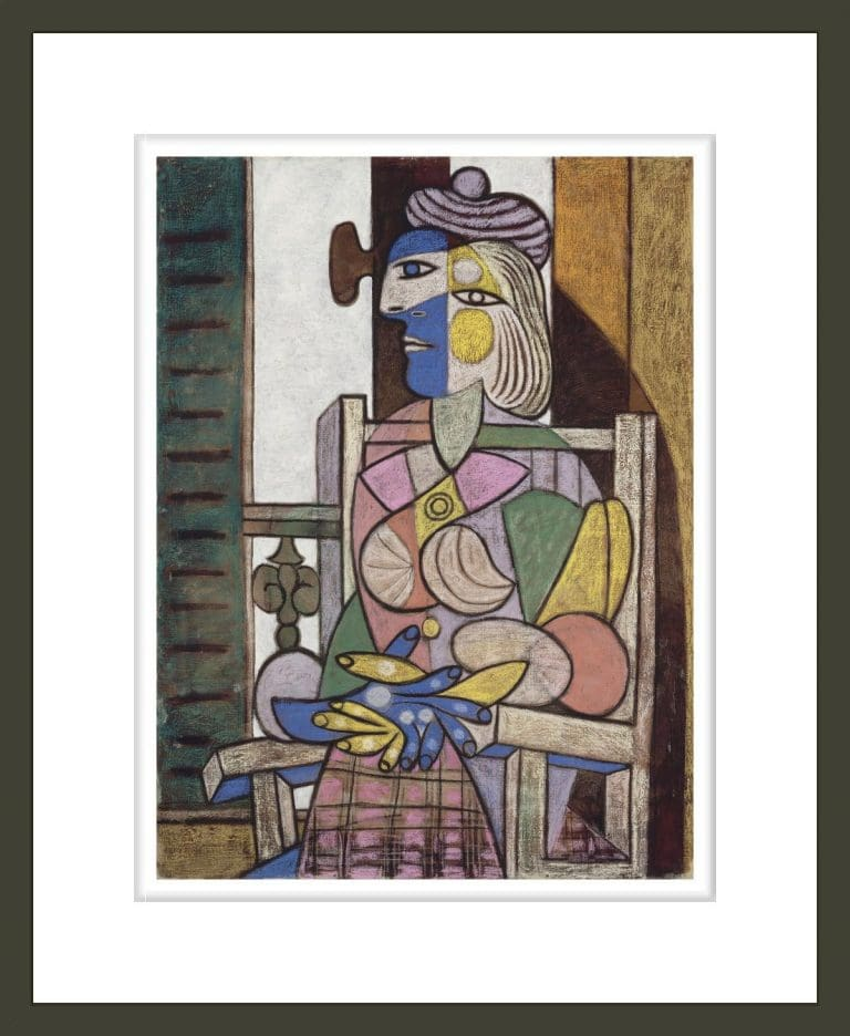 Femme assise devant la fenetre (Woman Seated before the Window)