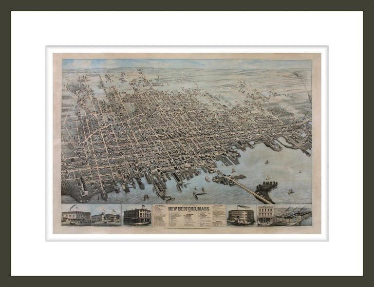 View of the City of New Bedford, Mass.