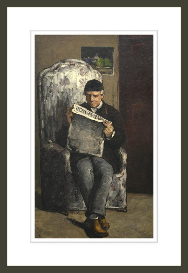 The Artist's Father, Reading