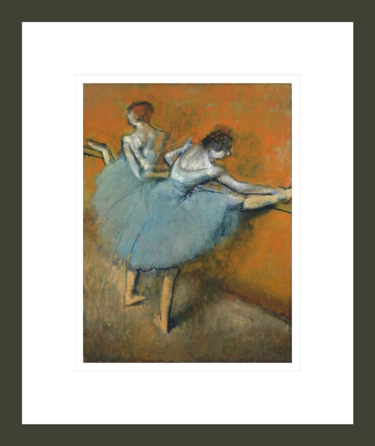 Dancers at the Barre