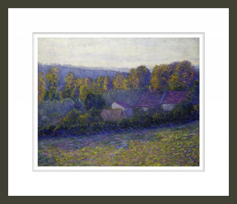 Autumn Afternoon, Giverny, undated