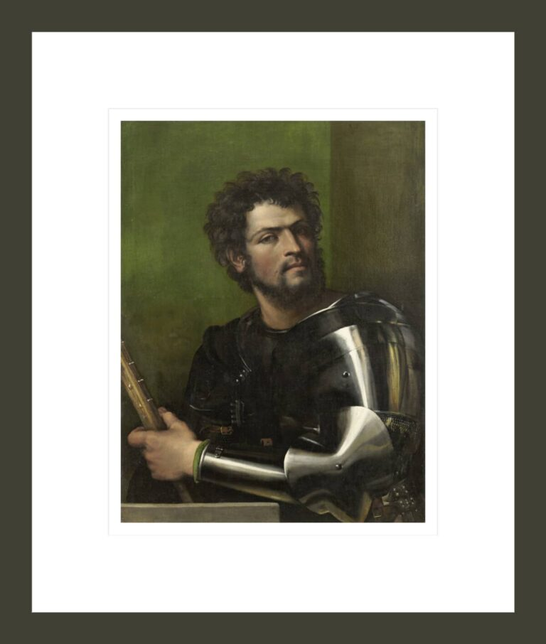 Portrait of a Man in Armor, c. 1512