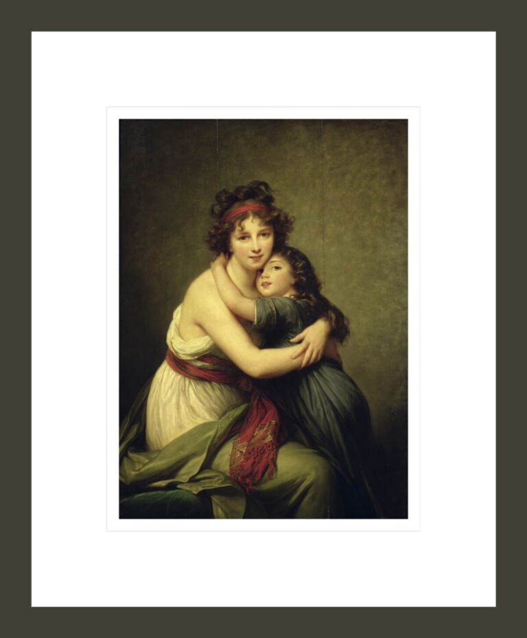 Madame Vigée-LeBrun and her Daughter, Jeanne-Lucie-Louise (1780-1819)