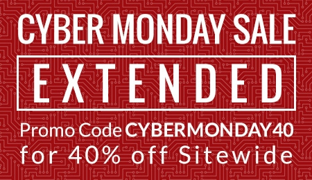 Cyber Monday Sale Extended