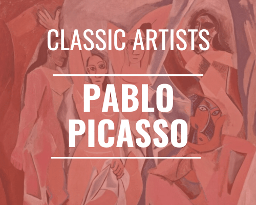 Classic Artists Pablo Picasso
