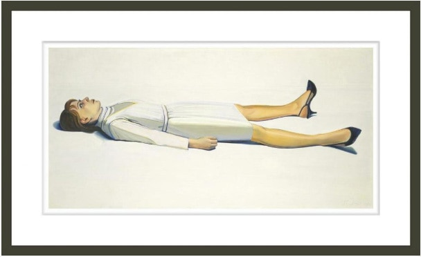 Supine Woman