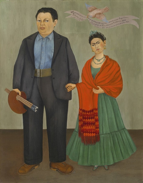 Frida Kahlo Frieda and Diego Rivera