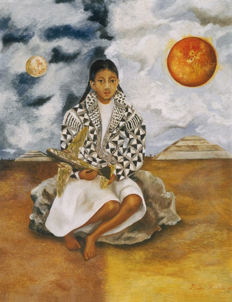 Frida Kahlo Girl from Tehuacán