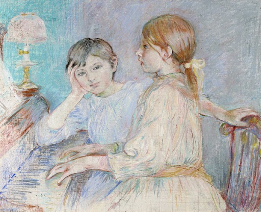 Le Piano by Berthe Morisot