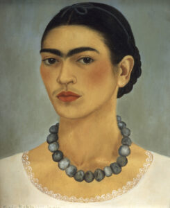 Self-Portrait with Necklace